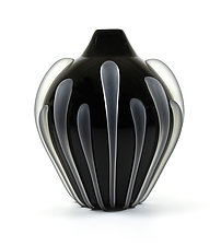Seedpod Vase by Thomas Kelly (Art Glass Vase)