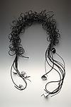 Seattle Wearable Art Scarf by Lonna Keller (Mixed Media Scarf)