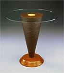 Geode Side Table by David Kiernan (Wood Side Table)