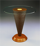 Geode Side Table by David Kiernan (Wood Side Table)