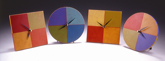 Square & Round Clocks