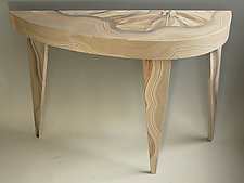 White River Console by Ingela Noren and Daniel  Grant (Wood Console Table)