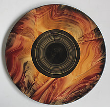 Eclipse Lazy Susan by Ingela Noren and Daniel  Grant (Wood Serving Piece)