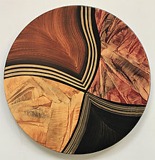Lazy Susan, Vienna by Ingela Noren and Daniel  Grant (Wood Serving Piece)