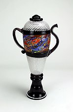 The Colorfield Teapot by Wes Hunting (Art Glass Teapot)