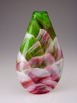 Tear Drop by Mark Rosenbaum (Art Glass Vessel)