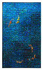 Koi Grid 3 by Tim Harding (Fiber Wall Hanging)