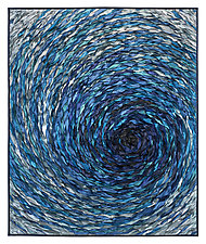 Whirlpool by Tim Harding (Fiber Wall Hanging)
