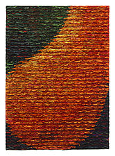 Orange Pear by Tim Harding (Fiber Wall Hanging)