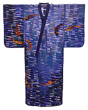 Koi Kimono by Tim Harding (Fiber Wall Hanging)