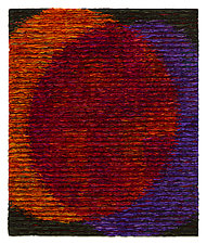 Venn Diagram-Red by Tim Harding (Fiber Wall Hanging)