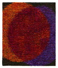 Venn Diagram-Red by Tim Harding (Fiber Wall Hanging)