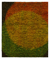 Venn Diagram-Yellow by Tim Harding (Fiber Wall Hanging)