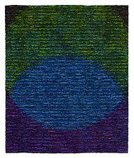 Venn Diagram-Blue by Tim Harding (Fiber Wall Hanging)