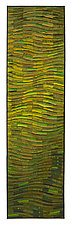 Olivine Wave Banner by Tim Harding (Fiber Wall Hanging)