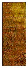 Gold Shimmer Banner by Tim Harding (Fiber Wall Hanging)