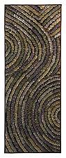Pewter Swirl Banner by Tim Harding (Fiber Wall Hanging)