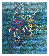 Poolside Shimmer by Tim Harding (Fiber Wall Hanging)