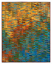Autumn Wave III by Tim Harding (Fiber Wall Hanging)