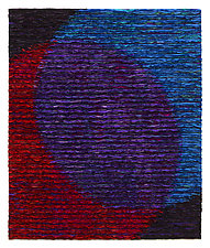 Venn Diagram-Purple by Tim Harding (Fiber Wall Hanging)