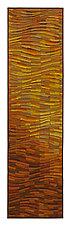 Tangerine Wave Banner by Tim Harding (Fiber Wall Hanging)