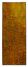 Gold Shimmer Banner by Tim Harding (Fiber Wall Hanging)