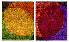 Venn Color Diagram by Tim Harding (Fiber Wall Hanging)