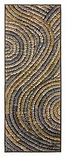 Platinum Swirl Banner by Tim Harding (Fiber Wall Hanging)