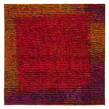 Red Square by Tim Harding (Fiber Wall Hanging)