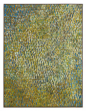 Gold Vibrations by Tim Harding (Fiber Wall Art)