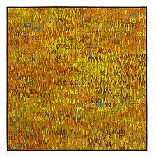 Naranja # 4 by Tim Harding (Fiber Wall Hanging)