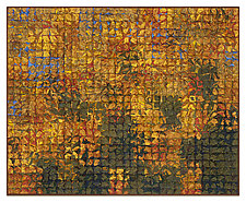 Autumn Gold Canopy by Tim Harding (Fiber Wall Hanging)