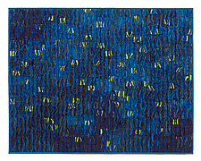 Fireflies by Tim Harding (Fiber Wall Hanging)