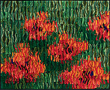 Poppies by Tim Harding (Fiber Wall Hanging)
