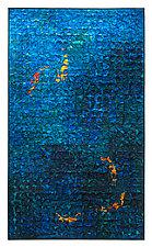Koi Grid by Tim Harding (Fiber Wall Art)