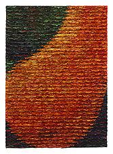 Orange Pear by Tim Harding (Fiber Wall Hanging)