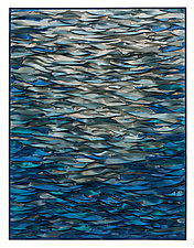 Blue Water by Tim Harding (Fiber Wall Hanging)