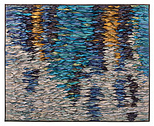 Reflecting Sea III by Tim Harding (Fiber Wall Hanging)