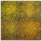Sage Quatro Radial by Tim Harding (Fiber Wall Hanging)