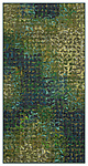 Green Grid Banner by Tim Harding (Fiber Wall Hanging)