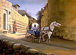 Turkish Cart by Werner Rentsch (Oil Painting)