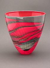 Kimono Series Bowl by Steven Main (Art Glass Bowl)