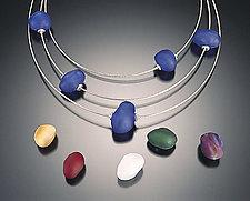 Baroque Bead Earrings by Eloise Cotton (Glass Bead Earrings)