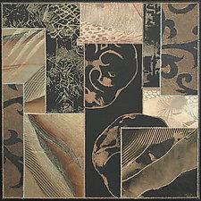 Light Passages, # 10 by Karen McCarthy (Fiber Wall Hanging)