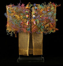 Antiqua Kimono by Susan McGehee (Metal Sculpture)
