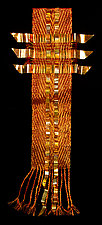 Flame Banner by Susan McGehee (Metal Wall Sculpture)