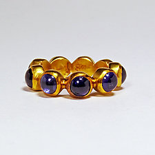 Sapphire Band by Eva Seid (Gold & Stone Ring)