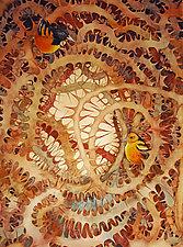 Thorn Birds by Helen Klebesadel (Watercolor Painting)