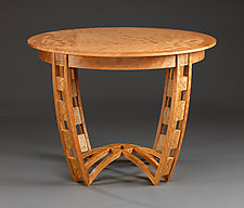 Setting by Mark Del Guidice (Wood Dining Table)