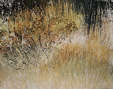 Nates Land 15 by Jan Jahnke (Mixed-Media Painting)
